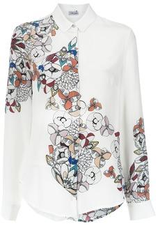 Tufi Duek floral print shirt - White