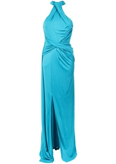 Tufi Duek front twist gown - Blue