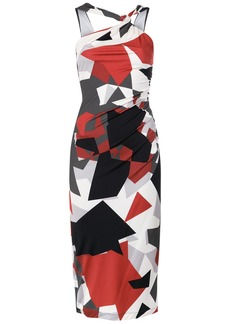 Tufi Duek geometric print dress - Multicolour