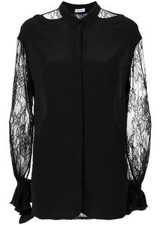 Tufi Duek lace cut out shirt - Black