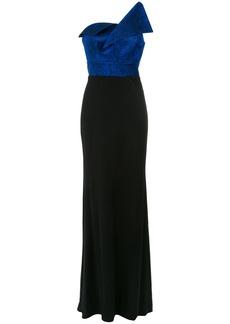 Tufi Duek one shoulder gown - Blue