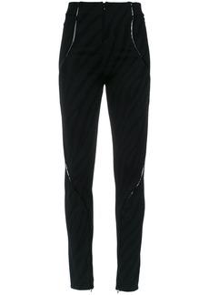 Tufi Duek panelled trousers - Black