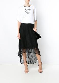 Tufi Duek printed boxy T-shirt - White