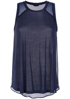 Tufi Duek sheer panels blouse - Unavailable