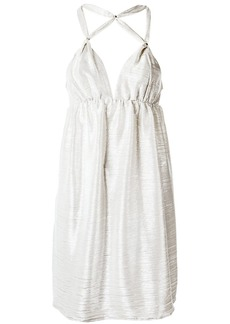 Tufi Duek strappy dress - White