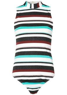 Tufi Duek striped bodysuit - Multicolour