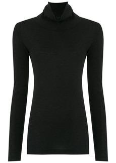 Tufi Duek turtle neck blouse - Black