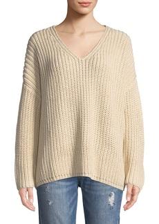 Tularosa Adams Chunky Knit V-Neck Sweater