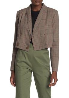 Tularosa Kendra Plaid Print Jacket