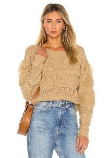 Tularosa Adrian Fringe Sweater