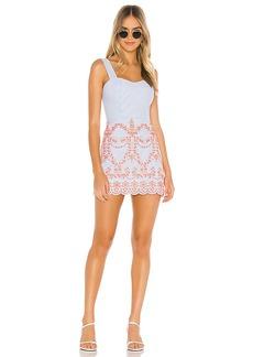 Tularosa Ari Embroidered Dress