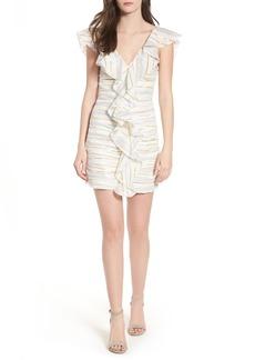 Tularosa Brittany Ruffle Dress
