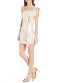 Tularosa Cait One-Shoulder Sheath Dress