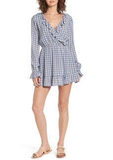 Tularosa Charleston Ruffle Surplice Dress