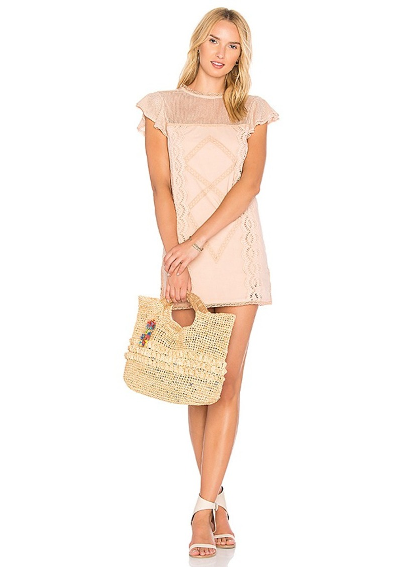 Cyrus Dress in Blush. - size L (also in M,S,XS) Tularosa