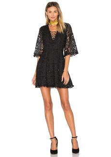 Tularosa Coal Lace Dress