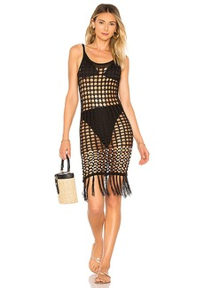 Tularosa Crochet Net Slip Dress