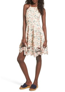 Tularosa Cyrus Lace Skater Dress