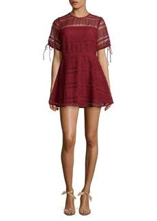 Tularosa Eden Lace Mini Dress