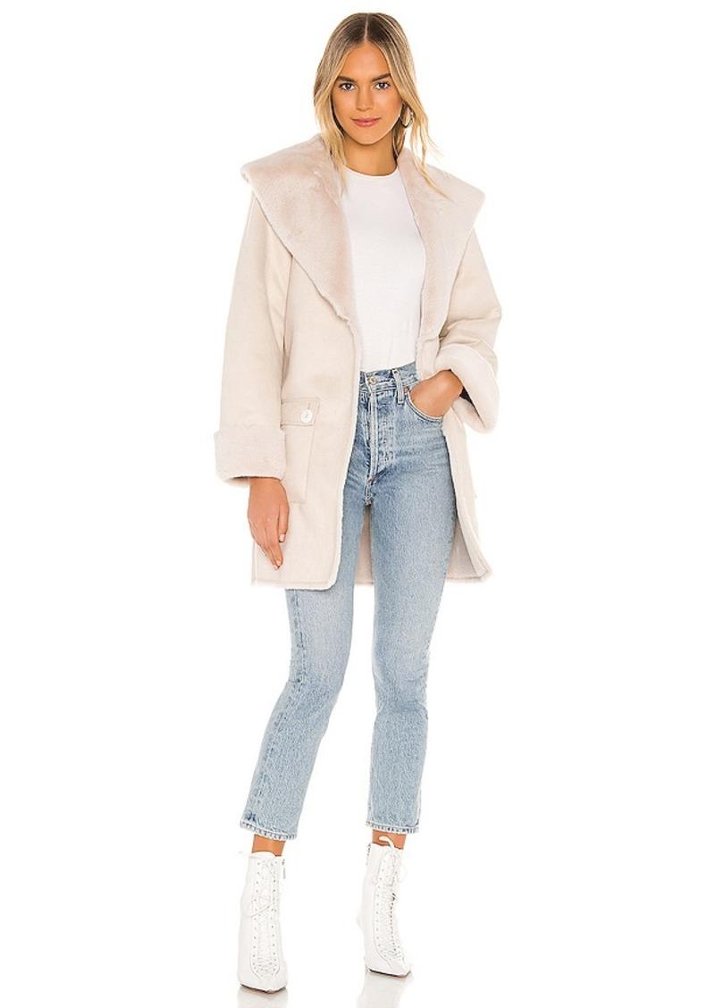 Tularosa Edith Faux Fur Coat