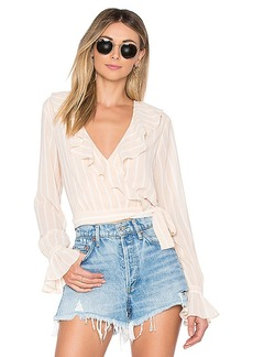 Tularosa Holly Wrap Top
