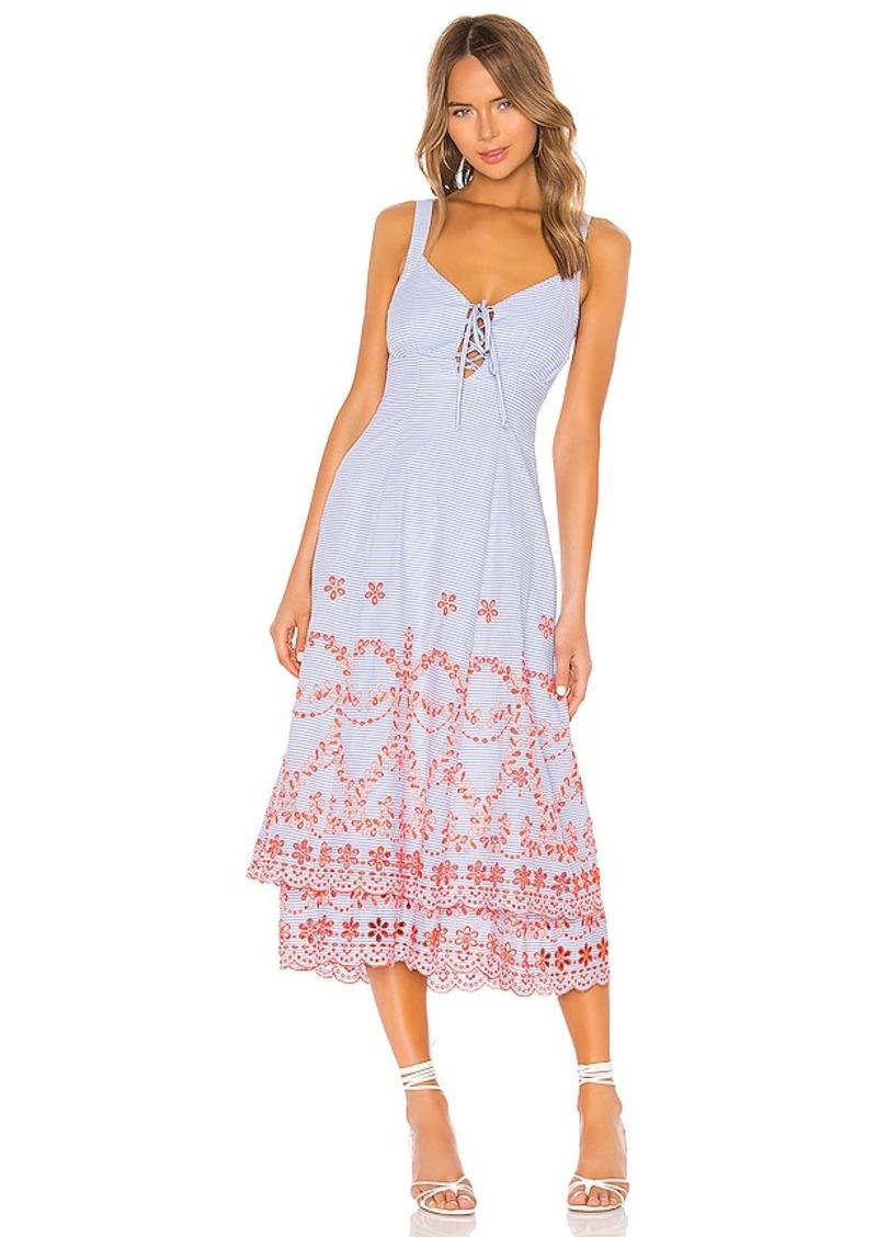 Tularosa Jaslyn Embroidered Dress