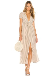 Tularosa Joel Plunge Maxi Dress