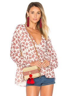 Tularosa Keegan Blouse in Ivory. - size S (also in M,XS)