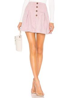 Tularosa Kendall Button Front Skirt