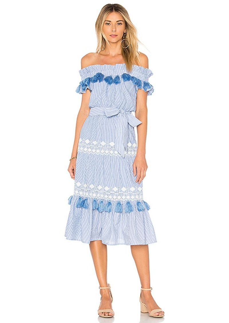 Bonita Dress in Gray. - size XS (also in M,S,XXS) Tularosa