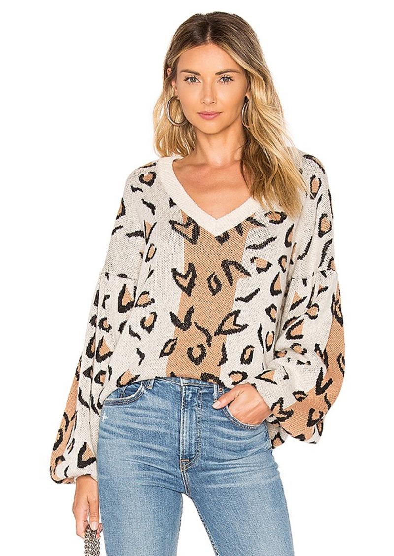Tularosa Leopard Sweater