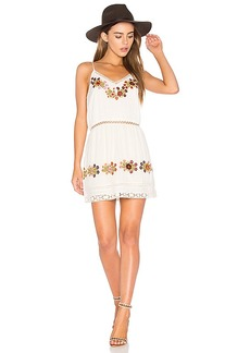 Tularosa London Slip Dress in Ivory. - size L (also in M,XL)
