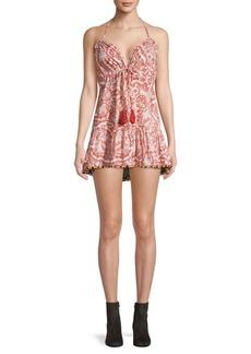 Tularosa Lori Paisley Mini Dress