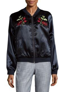Tularosa Mara Embroidered Bomber Jacket
