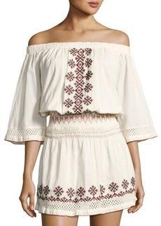 Tularosa Marietta Embroidered Dress