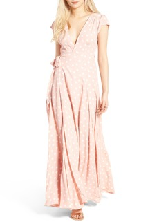 Tularosa Sid Wrap Maxi Dress (Nordstrom Exclusive)