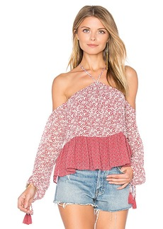Tularosa Syrah Blouse in Pink. - size L (also in M,S,XL, XS)