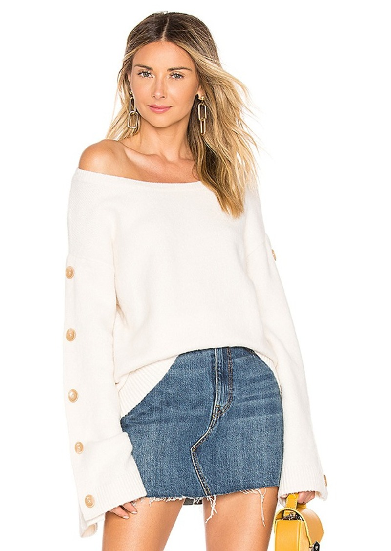 Tularosa Trento Button Sweater