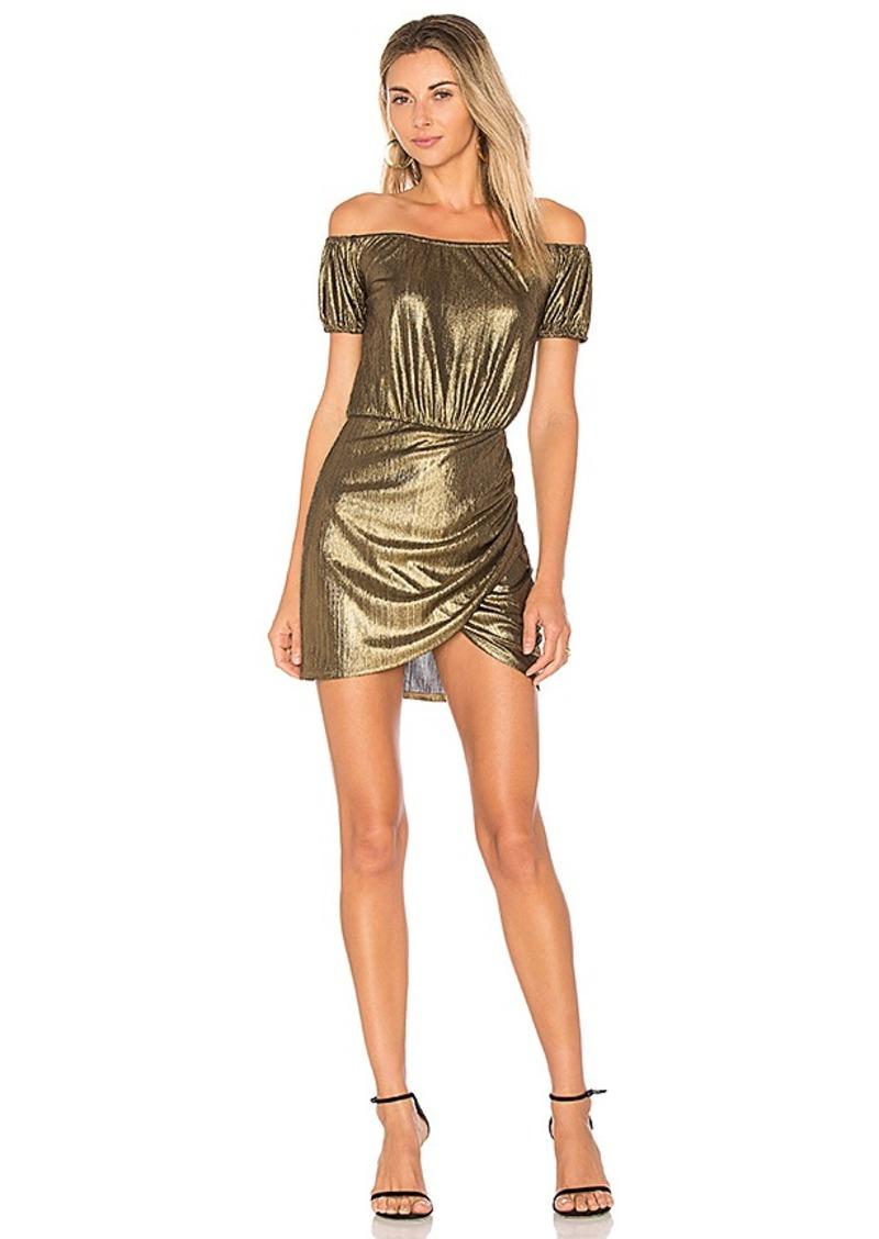 Sid Wrap Dress in Cream. - size XS (also in S,XXS) Tularosa