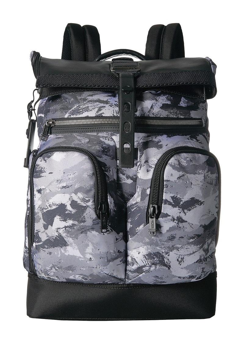 3e9c20fcfd Tumi Alpha Bravo London Roll-Top Backpack