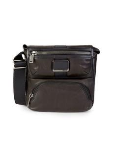 Tumi Bravo Barton Leather Crossbody Bag