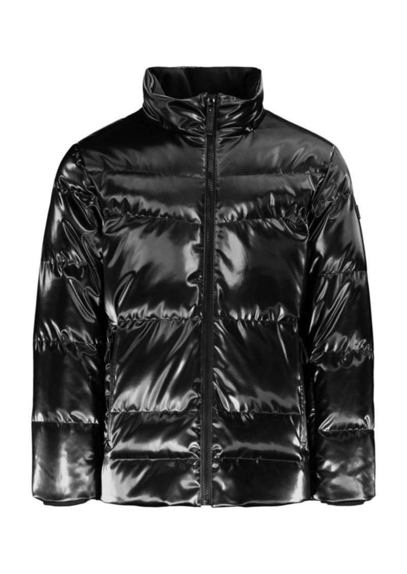 Tumi Metallic Down Puffer Jacket