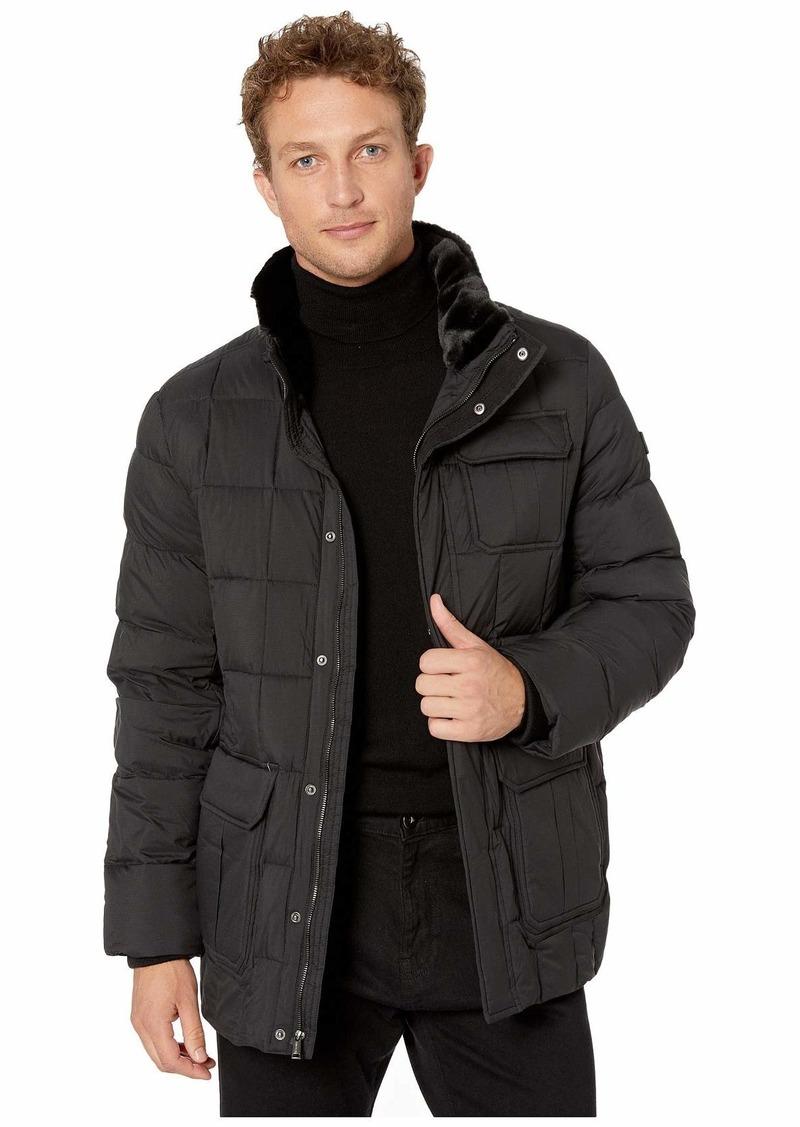 Tumi Puffer Box Quilt Jacket
