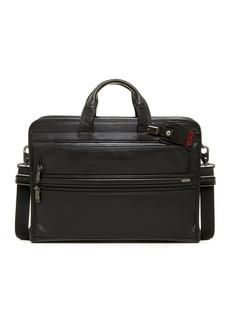Tumi 'Alpha' Slim Large Screen Computer Portfolio Leather Briefcase