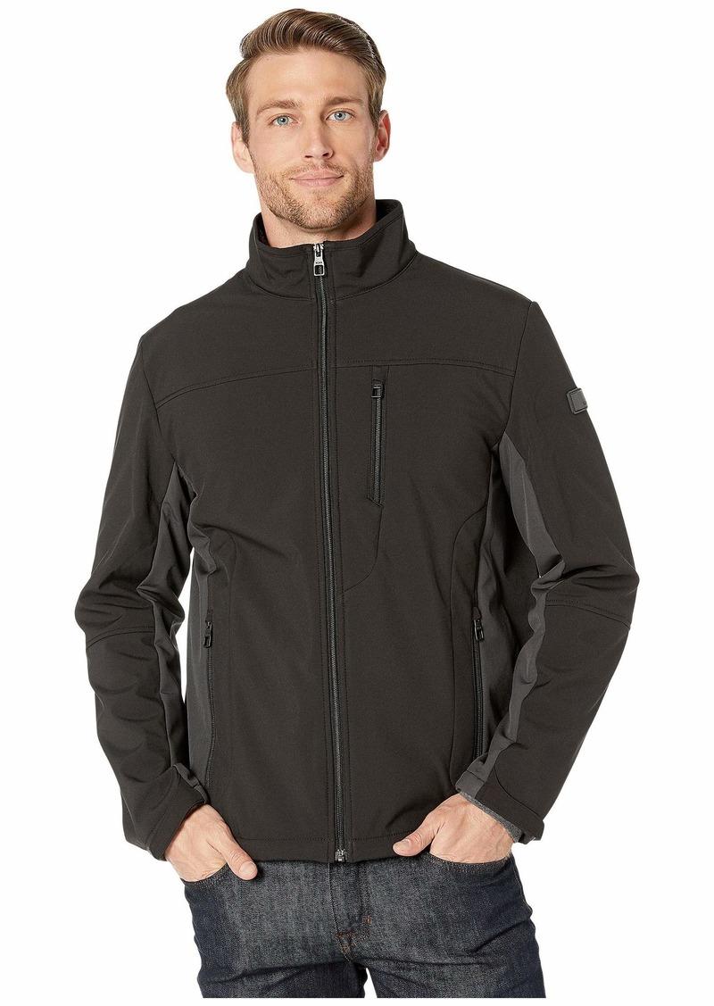 Tumi Stretch Softshell Jacket with Faux Fur Lining