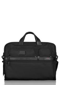 Tumi Alpha 2 Laptop Briefcase with Tumi ID Lock Pocket