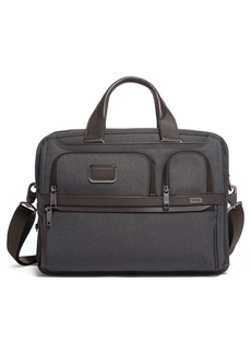 Tumi Alpha 3 Expandable Organizer Laptop Briefcase