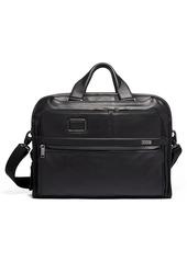 Tumi Alpha 3 Organizer Portfolio Leather Briefcase