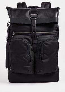 Tumi Alpha Bravo London Rolltop Backpack