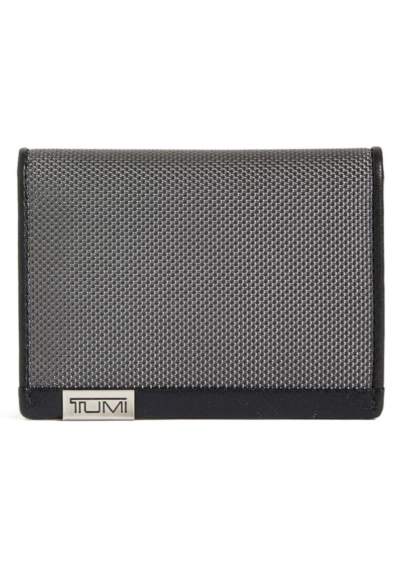 Tumi 'Alpha' Gusseted Card Case